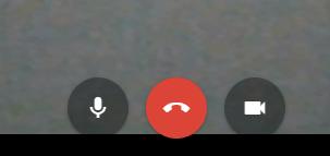 Control panel Google Hangouts