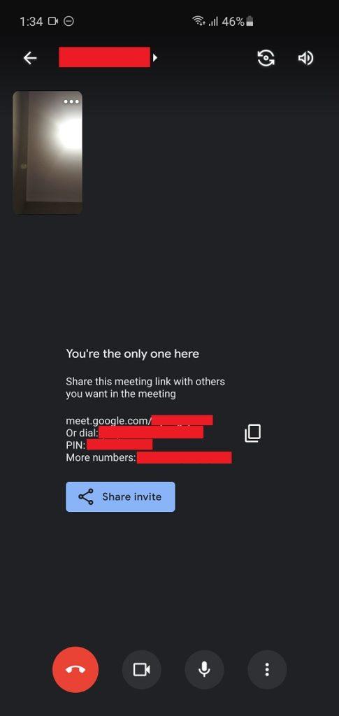 cara menggunakan google meet di hp